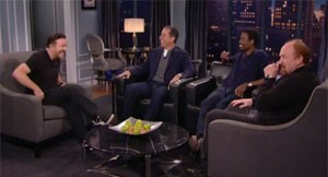 Video: Talking Funny:  Jerry Seinfeld, Chris Rock, Louis C.K. & Ricky Gervais