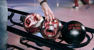 Scream Your Head Off! Zombie Head Bowling