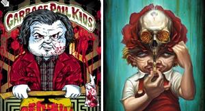 Garbage Pail Kids-Inspired Art @ Gallery 1988