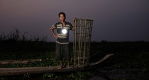 Cambodia by Moonlight: Solar-Powered Lantern by Kamworks