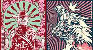 Gig Posters by Miles Tsang