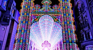 Cathedral of 55,000 LED Lights