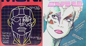 Fake Magazine Covers from Bladerunner