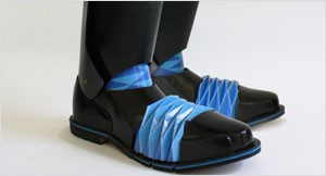 Origami Knight: Boot Concept by Horatio Han