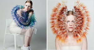 """Atmospheric Reentry"" – Headdresses by Maiko Takeda"