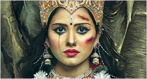 """Abused Goddesses"" Campaign by Taproot India"