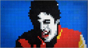 "Lego ""Thriller"" by Annette Jung"