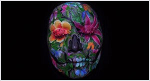 Ruby: Stop-Motion Face-Painting by Emma Allen