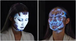<em>Omote:</em> Real-Time Face Tracking & Projection Mapping