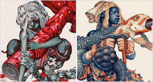 Recent Works by James Jean