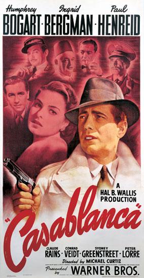 Bill Gold - Casablanca poster