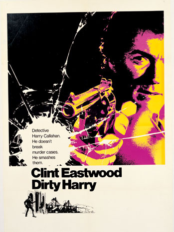 Bill Gold - Dirty Harry poster