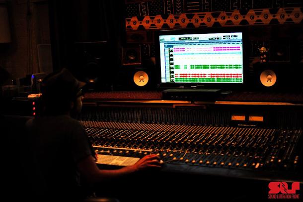 Amon at The Hook Studio