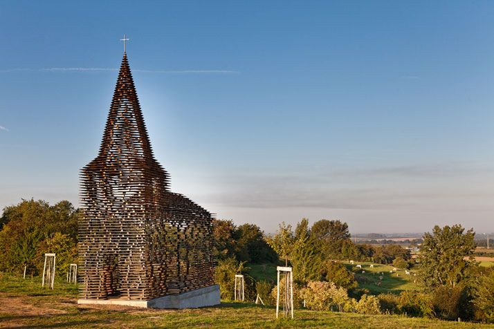 Transparent Church by Gijs Van Vaerenbergh