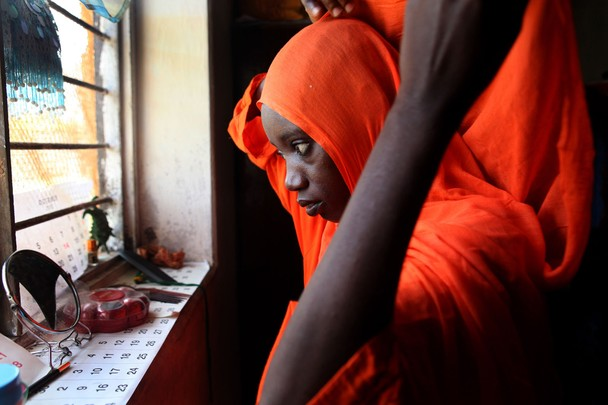 """Ikiwa's Hijab"" - Julia Cumes - Fumba, Zanzibar"