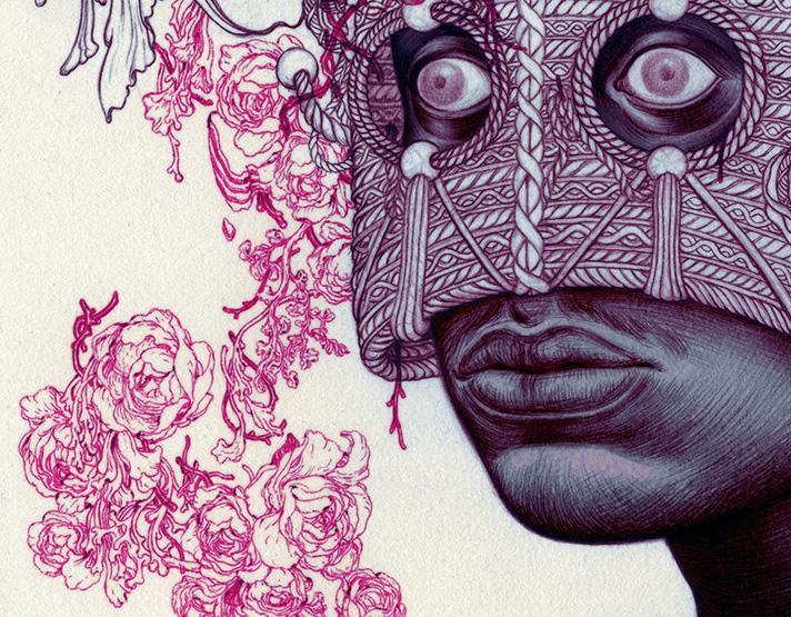 "Talib Kweli ""Prisoner of Conscious"" by James Jean"