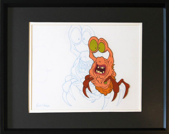 """Ben Walker """"Cell From John Carpenter's Animated Adventures - The Thing"""""""