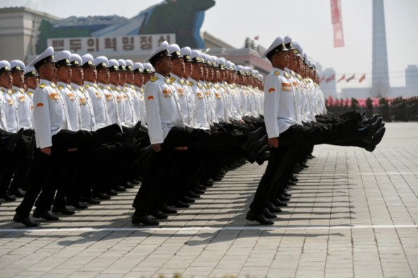 "Adelin Petrisor - ""The Gigantic North Korean Parade"""