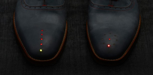 GPS Shoes by Dominic Wilcox