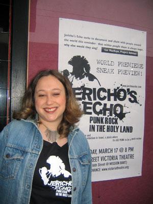 Liz Nord at Jericho's Echo premiere